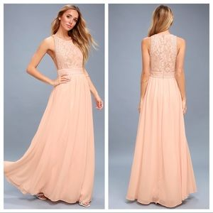 {Lulu's} Forever and Always maxi dress